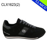 Chaussures de course d'espadrille unisexe de sports de cuir de bonne qualité