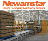 Newamstar reines Wasser durchbrennenfüllende mit einer Kappe bedeckende Combiblock Verpackungs-Maschinerie