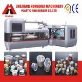 Machine automatique d'impression offset de 6 couleurs pour les cuvettes en plastique (CP670)