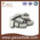 Твердые напаянные режущие части A10 B25 C12 G30 etc. карбида