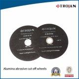 O abrasivo do óxido de alumínio ou do carboneto de silicone eliminou as rodas, para máquinas metalográficas da interrupção