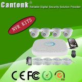 4 canaux OEM sécurité H. 265 kits de NVR Poe & Caméra IP à partir de la CCTV Fournisseur (NVRPGH498SLH40)