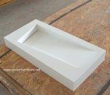 Diseño de las cabinas de cuarto de baño con el lavabo superficial sólido de Corian