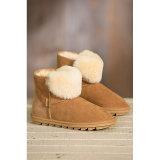 Caricamenti del sistema caldi della caviglia della pelle di pecora di inverno per le signore