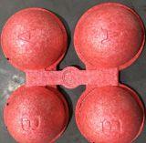 Sfera della gomma piuma di EPP con le lettere per il giocattolo educativo dei bambini