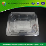 BPA自由で明確なヒンジの使い捨て可能なプラスチック食糧容器