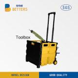 Neuer elektrischer Strom-Hilfsmittel-Set-Kasten im China-Ablagekasten-Gelb