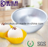 4.5 X 2cm 5.5 x 2.5cm 6.5 x 3cm Aluminiumlegierung-Kugel-Bereich-Bad-Bomben-Form-Kuchen-Backen-Form
