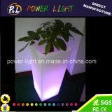 Meubles de jardin de changement de couleur usine d'éclairage à LED RVB étanche pot