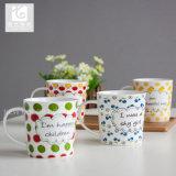 Type attrayant de tasses de café de porcelaine de Liling