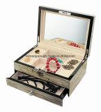 De nouveaux bijoux en bois brillant en bois de placage à l'emballage boîte cadeau