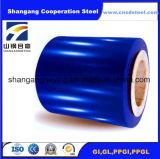 acier enduit de la couleur Steel/PPGI de 0.17-0.8mm/750-1250mm