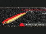 Leurre de pêche en plastique (Rambler crayon 85mm flottante)