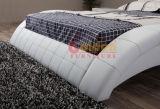 Weißes bequemes Bett-gesetztes hölzernes Bett formt G1108