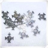 Katholischer Jesus-spezieller Metallkreuz-Halsketten-Anhänger (IO-ap221)