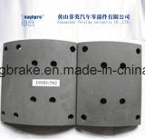 Il rivestimento dei freni del camion di Hino con l'amianto libera