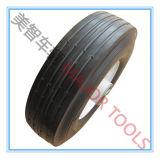 Roda de roda de rolo de borracha Semi pneumática 8X2.5