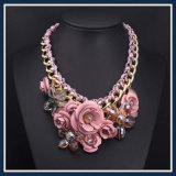 Nuevo collar pendiente de la joyería de la manera de la flor multi del artículo