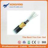 Câble fibre optique extérieur de faisceau du mode unitaire 48 de câble de conduit de GYTA
