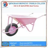 carriola resistente del metallo dello strumento della costruzione 90L e di giardino