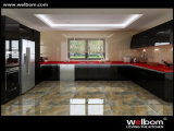 Armadi da cucina moderni personalizzati alta lucentezza di Welbom