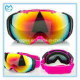Анти- объектив PC тумана UV 400 резвится изумлённые взгляды маски катания на лыжах