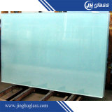 3-19mm Flat / Bent Acid Etch Tempered / Toughened Glass for Window / Door / Building / Furniture