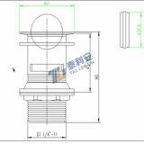Модный вращая отход тазика мытья (T1032)