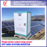 AC Bypass Input를 가진 60000 와트 High Voltage Input Single Phase Output Solar Power Inverter