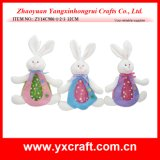 Décoration de Pâques (ZY14C879-1-2) Easter Craft Bunny Soft Toy