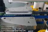 Машина для прикрепления этикеток задней части фронта бочонков смазывая масла ярлыка стикера автоматическая