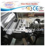 Ligne extrudeuse de feuille de bordure foncée de PVC avec la machine de division