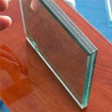 Plancher en verre trempé stratifié