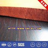 feuille colorée de caoutchouc mousse d'éponge de silicones de code de 3mm Pantone
