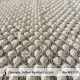 Nylon оптовая продажа ткани шнурка пузыря Spandex (M5217)