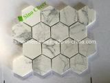 China White mosaico de mármol con el mejor precio