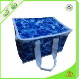 Rótulo de PP não tecidos refrigerador isolados com saco de almoço