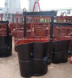 Boas conchas de desnatação do Teapot da concha do ferro