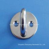 ステンレス鋼の溶接されたリングが付いている細長いパッドの目の版