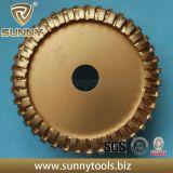 Roue à profil fritté à rouleaux diamantés de qualité supérieure pour pierre