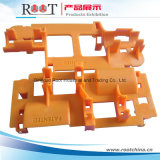 Peças plásticas para embalar peças metálicas