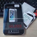 Protezione Premium dello schermo di vetro Tempered del telefono mobile 9h per il iPhone