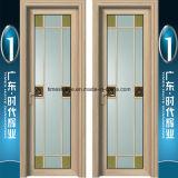 Porte intérieure en aluminium de pivotement de la charnière de porte Porte porte de la salle de bains