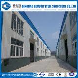 Construction préfabriquée d'entrepôt de structure métallique