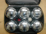 Boccia Game 8 Metal Bocce Petanque Boules in Nylon Bags