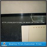 Pedra de quartzo preto Artificial projetado para bancadas de pedra e de bancada de cozinha tops