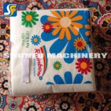 Tejido impreso de la servilleta de papel que hace precio de la máquina