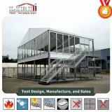 30x60m tente de deux étages/ Double Decker tente pour la restauration et de Holispitality