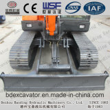 Mini excavador de la correa eslabonada de Shandong Baoding con el compartimiento 0.21m3 para la venta