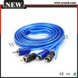 Высокого качества на заводе соединительный провод сигнального кабеля RCA (R-116)